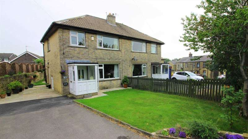 3 Bedrooms Semi Detached House for sale in Slaithwaite Road, Meltham