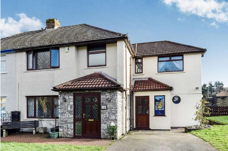 5 Bedrooms Semi Detached House for sale in The Sanctuary, Cardiff