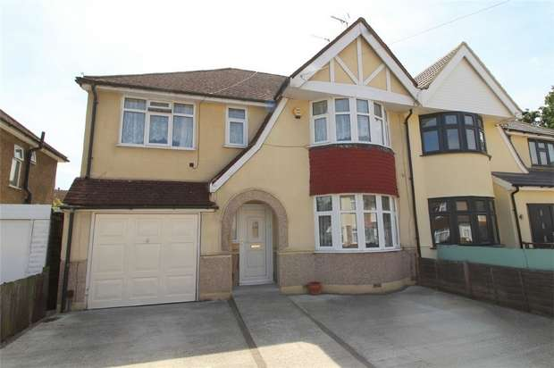 5 Bedrooms Semi Detached House for sale in Ashford Avenue, Ashford, Middlesex