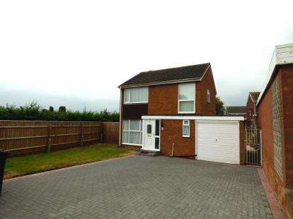 3 Bedrooms Detached House for sale in Wolseley, Lakeside, Tamworth, Staffordshire