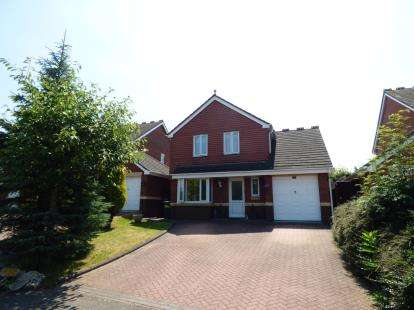 3 Bedrooms Detached House for sale in Mayfield, Wilnecote, Tamworth, Staffordshire