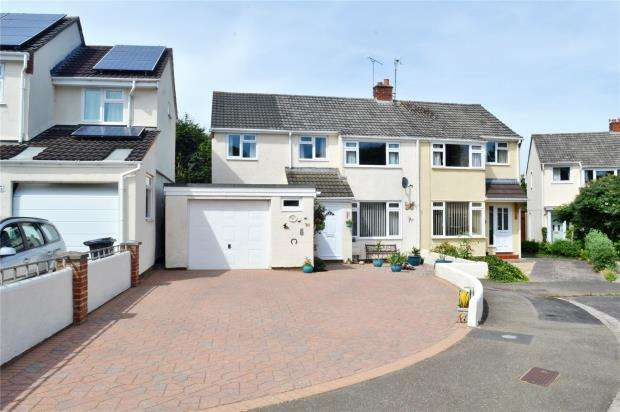 4 Bedrooms Semi Detached House for sale in Statham Close, Taunton, Somerset