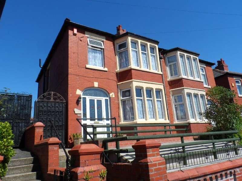 3 Bedrooms Semi Detached House for sale in Blenheim Avenue, Blackpool, FY1 4ER