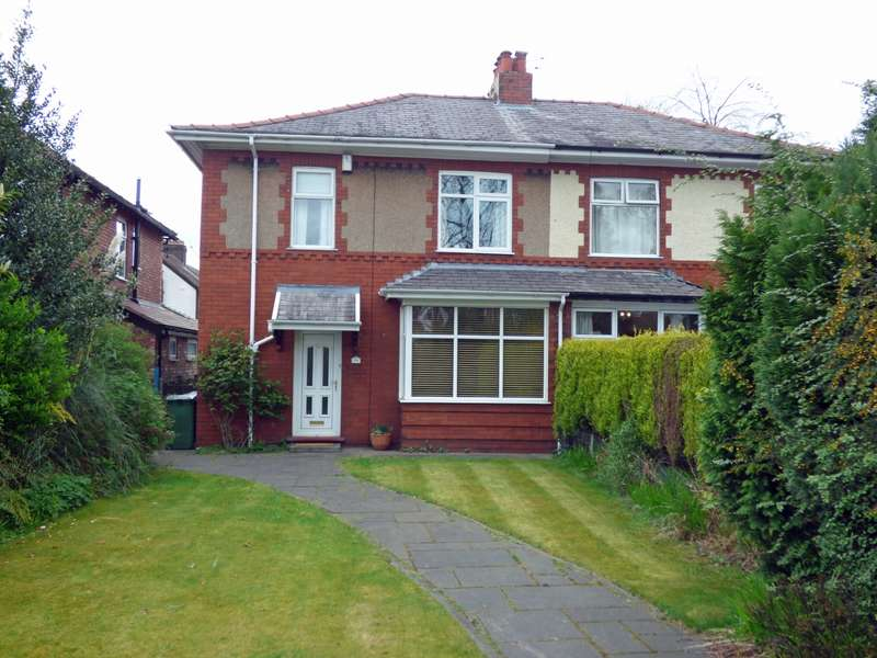 3 Bedrooms Semi Detached House for sale in Marple Road Stockport