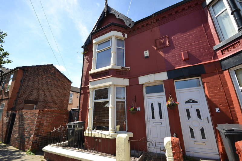 3 Bedrooms End Of Terrace House for sale in Croxteth Road, Bootle, Bootle, L20
