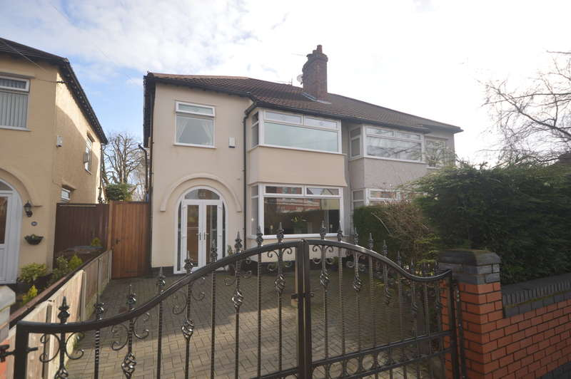 3 Bedrooms Semi Detached House for sale in Brownmoor Lane, Crosby, Liverpool, L23