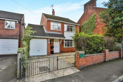 3 Bedrooms Detached House for sale in Priestsic Road, Sutton-In-Ashfield, Nottinghamshire, Notts