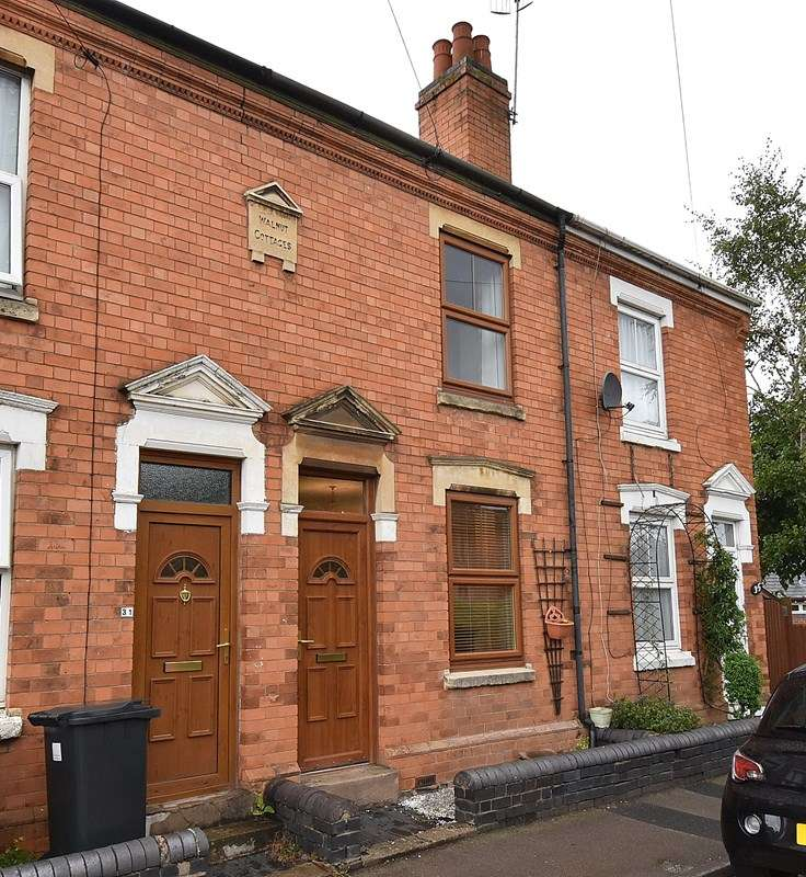 2 Bedrooms Terraced House for sale in St. Georges Lane North, Worcester