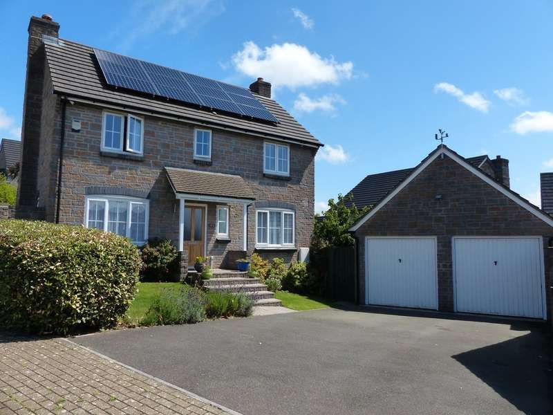 4 Bedrooms Detached House for sale in College Way, Gloweth