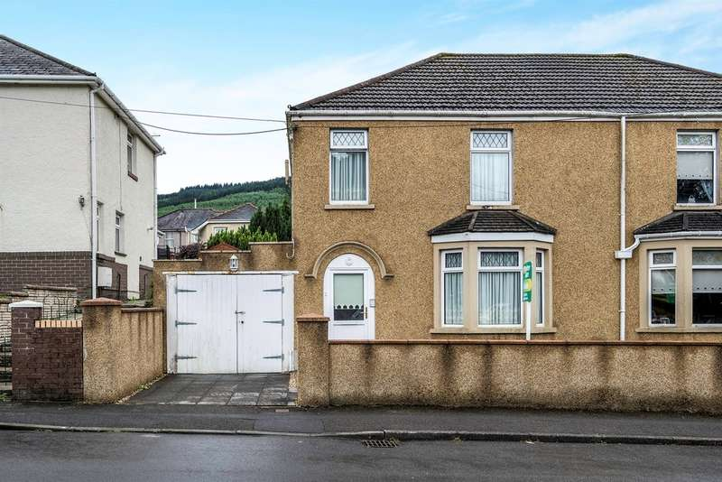 3 Bedrooms Semi Detached House for sale in Church Crescent, Cwmgwrach, Neath