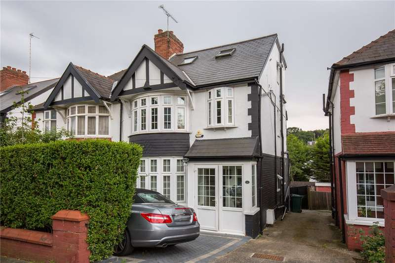 4 Bedrooms Semi Detached House for sale in Ferncroft Avenue, North Finchley, London, N12