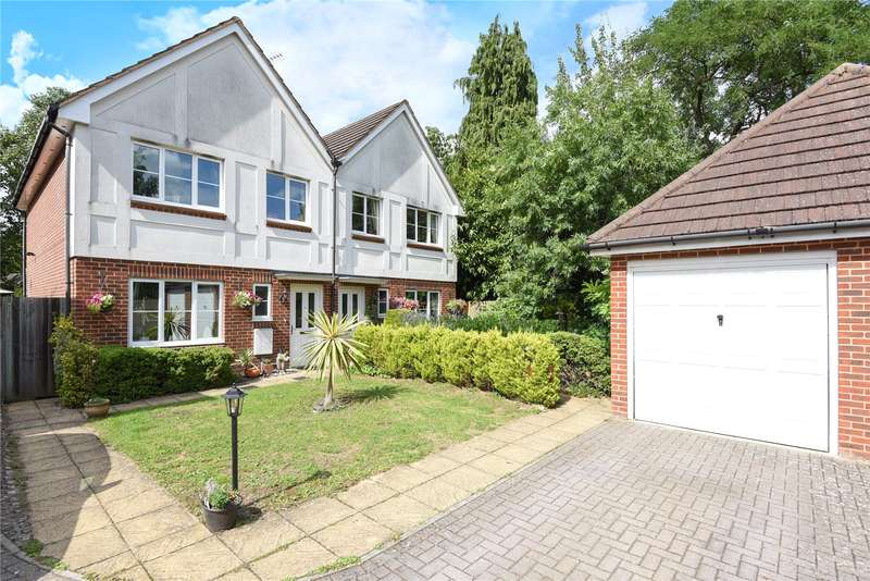 3 Bedrooms Semi Detached House for sale in Nursery Close, Oxhey Hall, Hertfordshire, WD19