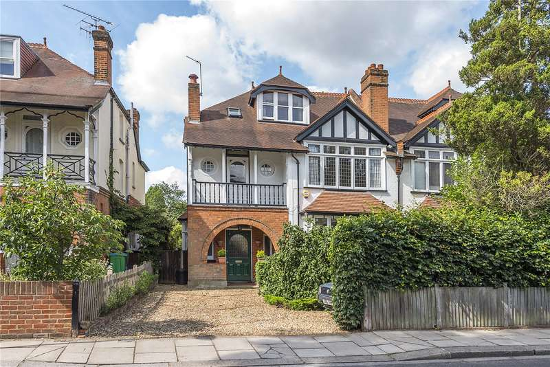 5 Bedrooms Semi Detached House for sale in Broom Road, Teddington, TW11