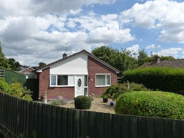2 Bedrooms Detached Bungalow for sale in Ebble Crescent, Warminster
