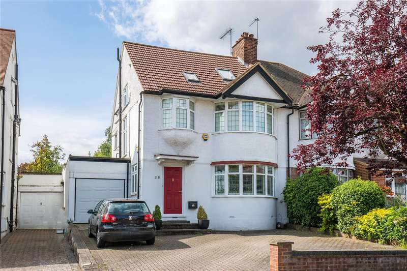 4 Bedrooms Semi Detached House for sale in Addington Drive, North Finchley, London, N12