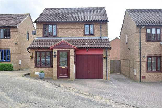 3 Bedrooms Detached House for sale in Hexham Gardens, Bletchley, Milton Keynes, Buckinghamshire
