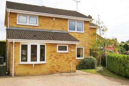 4 Bedrooms Detached House for sale in Grasmere Way, Linslade, Leighton Buzzard, Bedfordshire