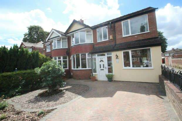 4 Bedrooms Semi Detached House for sale in Derbyshire Road South , Sale