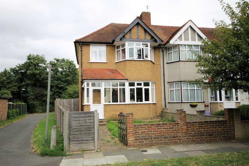 3 Bedrooms End Of Terrace House for sale in Rutland Drive, Morden