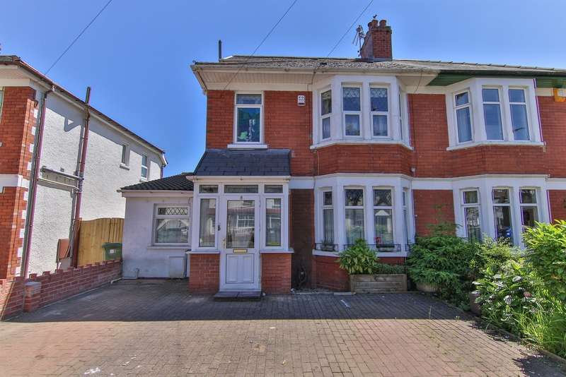 5 Bedrooms Semi Detached House for sale in Pantmawr Road, Whitchurch, Cardiff