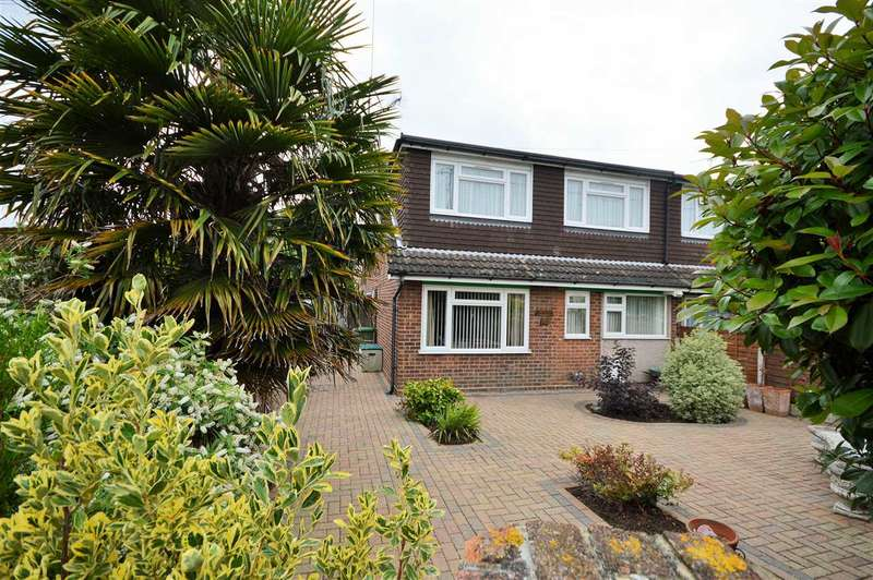 4 Bedrooms Semi Detached House for sale in Fanton Walk, Wickford
