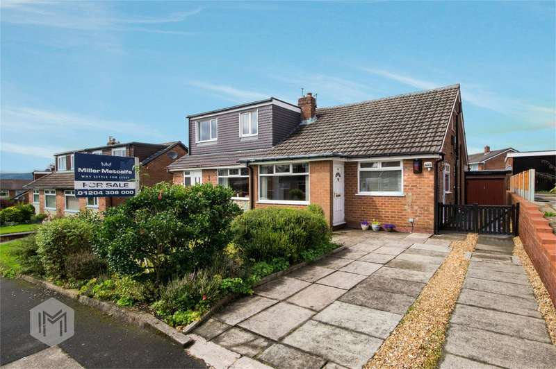 4 Bedrooms Semi Detached Bungalow for sale in Ferndown Road, Harwood, Bolton, Lancashire