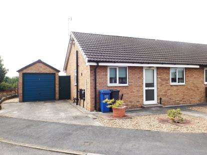 2 Bedrooms Bungalow for sale in Old Bakery Close, Old Whittington, Chesterfield, Derbyshire
