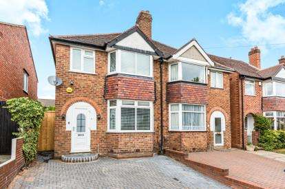 3 Bedrooms Semi Detached House for sale in Stanley Avenue, Birmingham, West Midlands