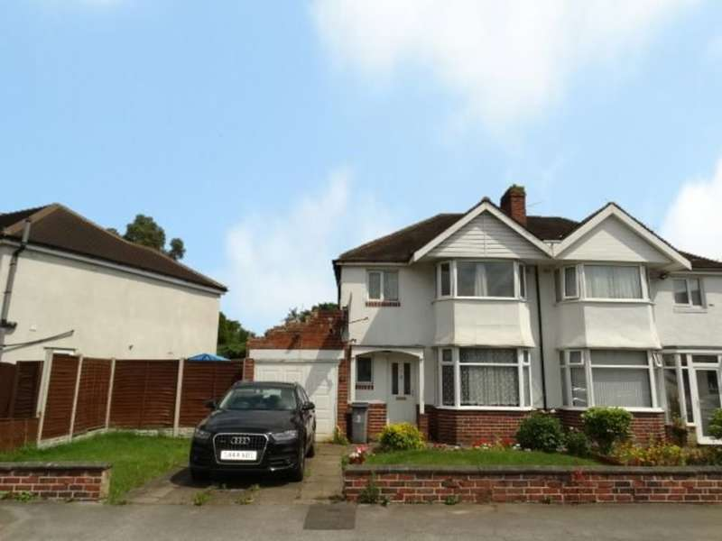 3 Bedrooms Semi Detached House for sale in Knightsbridge Road, Solihull