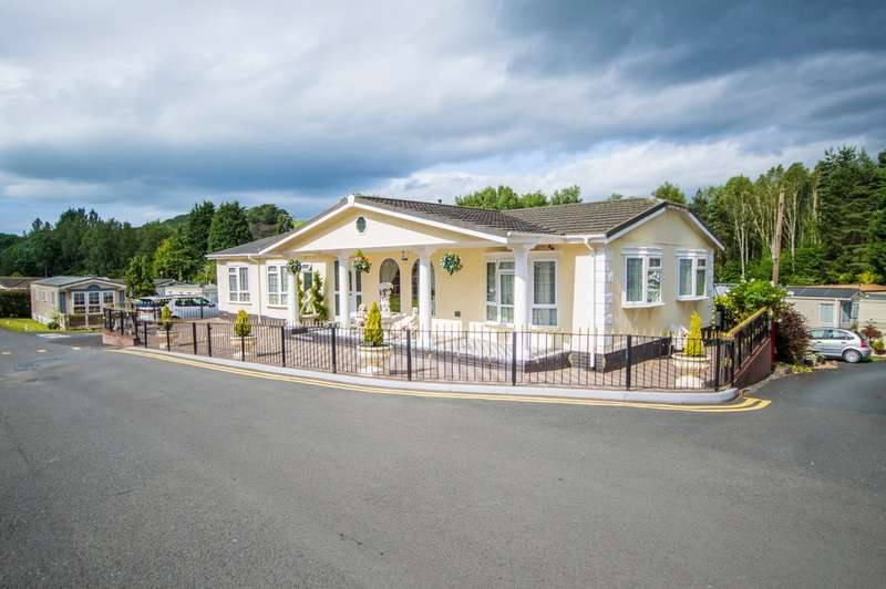 3 Bedrooms Park Home Mobile Home for sale in Riverside Caravan Park, Dowles Road