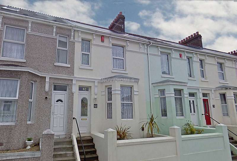2 Bedrooms Terraced House for sale in South Milton Street, Cattedown, PL4 0QF