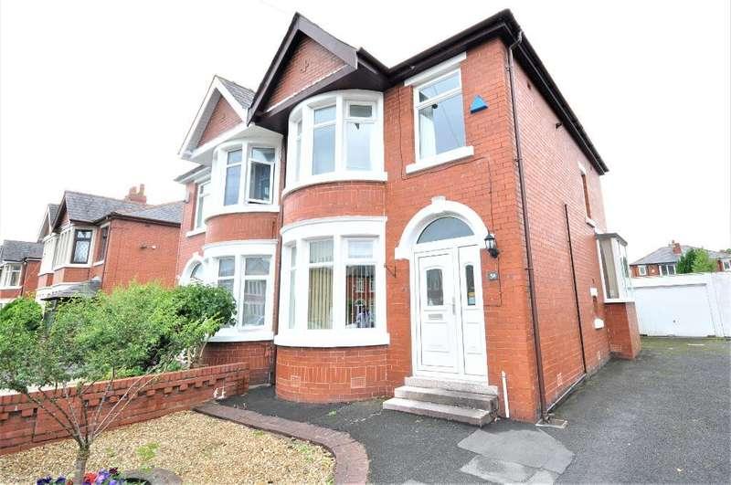 3 Bedrooms Semi Detached House for sale in Glenluce Drive, Preston, Lancashire, PR1 5TD