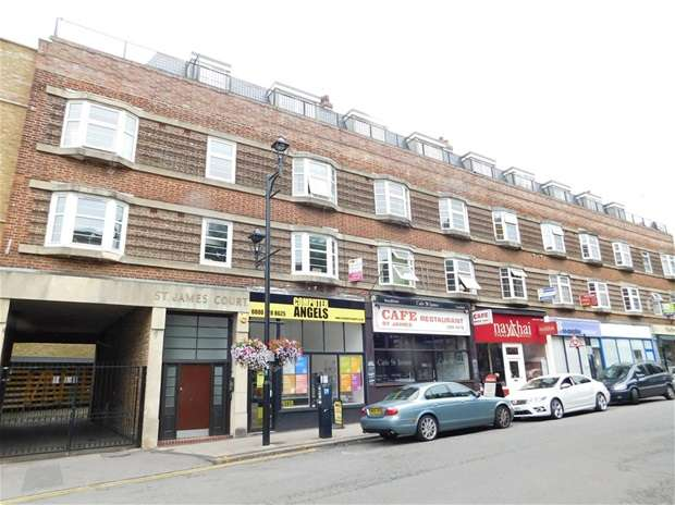 2 Bedrooms Flat for sale in St. James Road, Surbiton