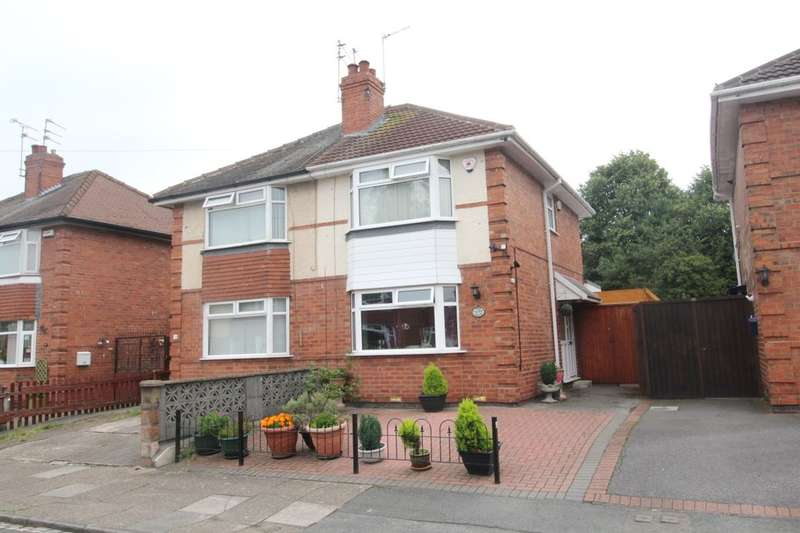 2 Bedrooms Semi Detached House for sale in Lincoln Avenue, Derby, DE24