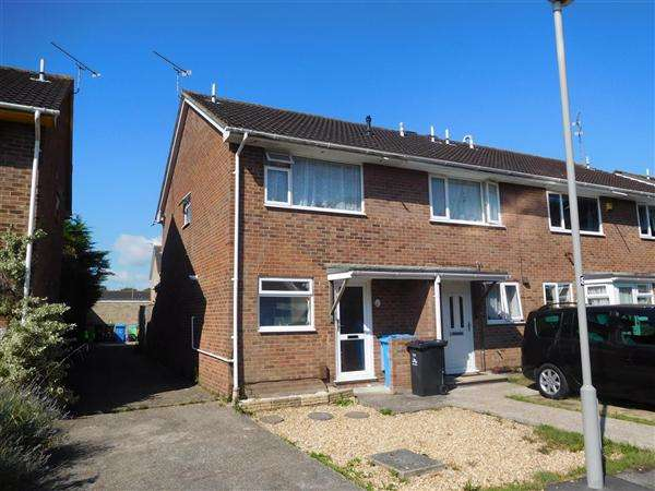 2 Bedrooms End Of Terrace House for sale in Hewitt Road, Hamworthy, Poole