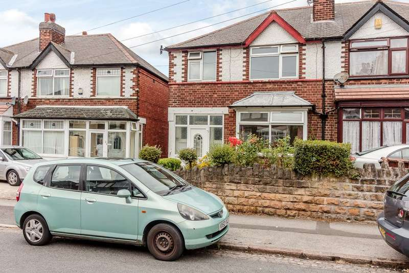 3 Bedrooms Semi Detached House for sale in Chadwick Road, Nottingham, NG7 5NN