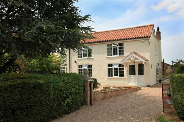 4 Bedrooms Detached House for sale in Chapel Lane, Utterby, Louth, Lincolnshire