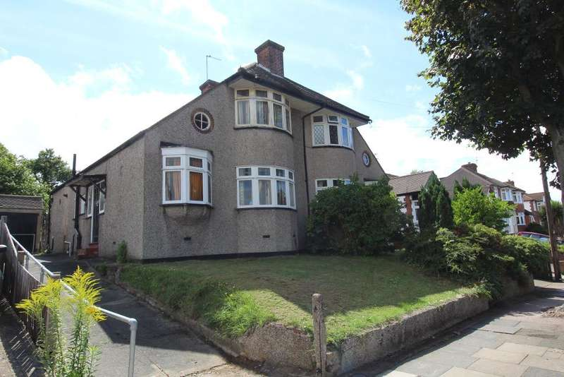 3 Bedrooms Semi Detached House for sale in Felstead Road, Orpington, Kent, BR6 9AE
