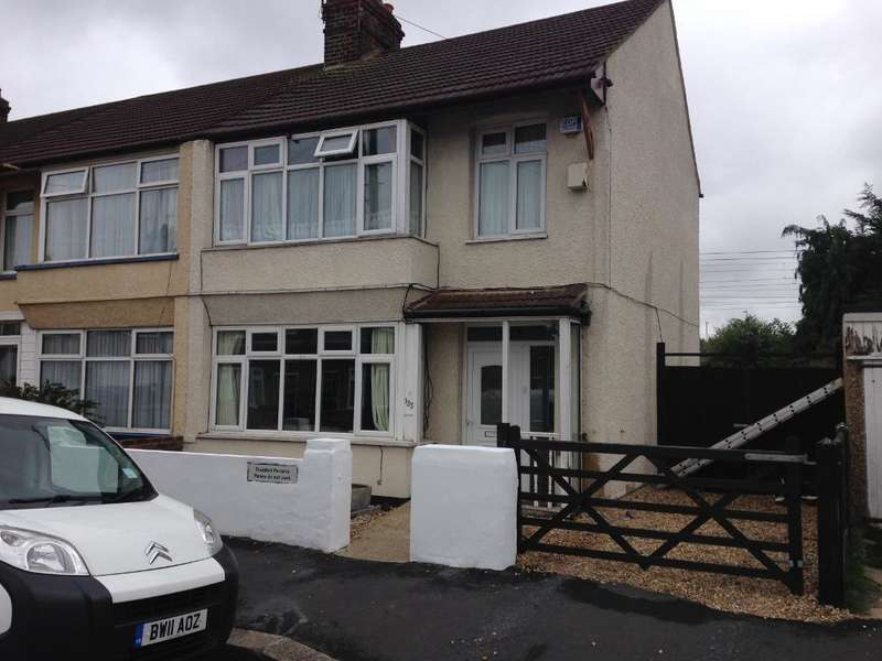 3 Bedrooms End Of Terrace House for sale in Sheringham Avenue, Romford, RM7 9DR