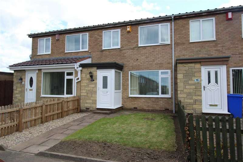 3 Bedrooms Terraced House for sale in Kinloss Square, Eastfield Dale, Cramlington