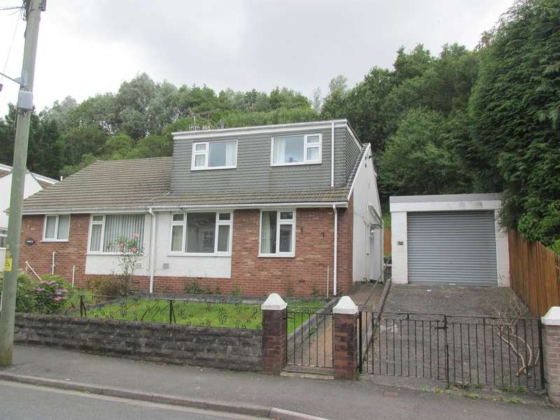 3 Bedrooms Semi Detached Bungalow for sale in Anns Close, Merthyr Tydfil
