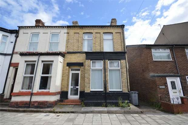 2 Bedrooms End Of Terrace House for sale in Winstanley Road, New Ferry, Merseyside