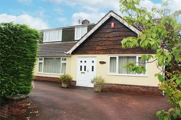 4 Bedrooms Detached Bungalow for sale in Geneva Drive, Newcastle, Staffordshire
