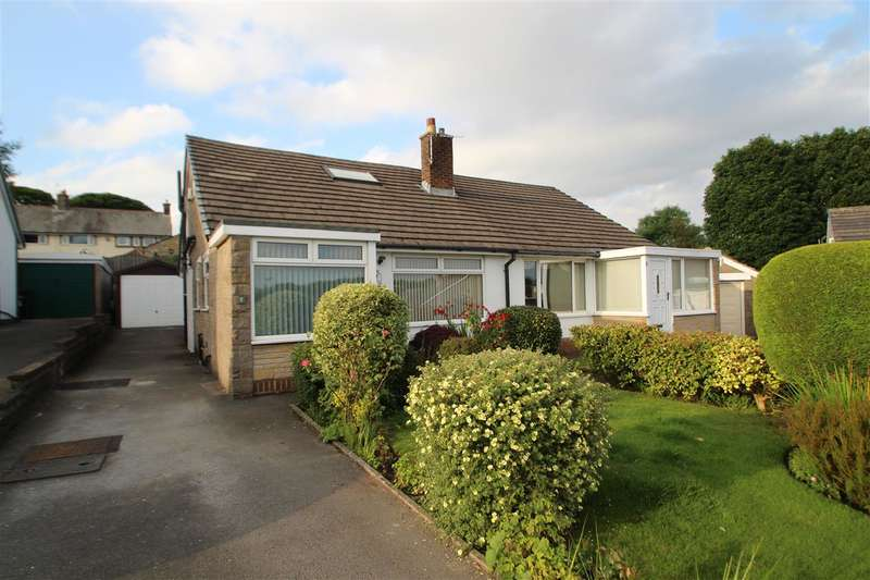 2 Bedrooms Semi Detached House for sale in Norton Close, Norton Tower, Halifax