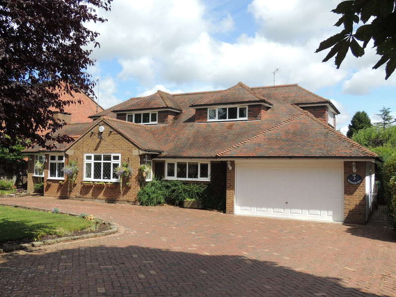 5 Bedrooms Detached House for sale in Dorridge Road, Dorridge, Solihull