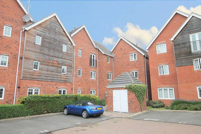 2 Bedrooms Flat for sale in Marina View, Fazeley, Tamworth, B78 3BF