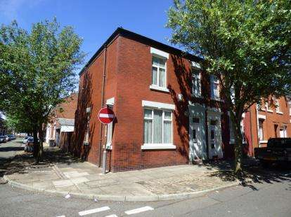 4 Bedrooms End Of Terrace House for sale in Trafford Street, Preston, Lancashire, PR1