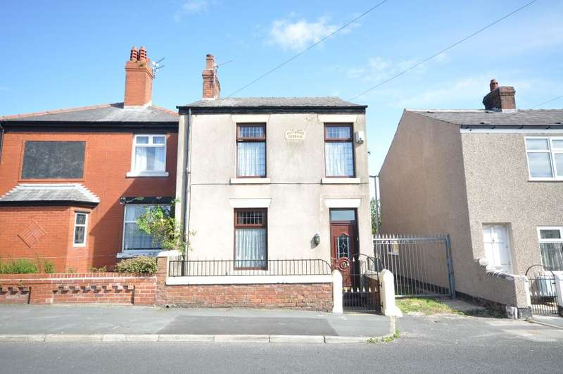 2 Bedrooms Semi Detached House for sale in Preston Old Road, Blackpool, Lancashire, FY3 9QP