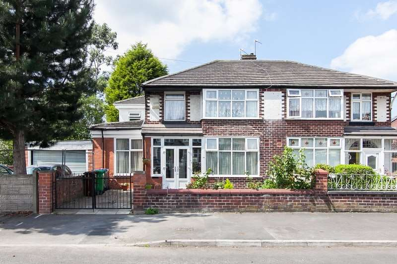4 Bedrooms Semi Detached House for sale in Morville Road, Manchester, Lancashire, M21