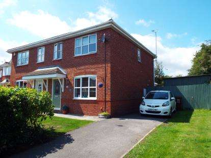 3 Bedrooms Semi Detached House for sale in Forest Walk, Buckley, Flintshire, CH7